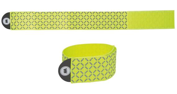 Wowow Reflexband ca 15x95 cm mit Klettverschluß gelb reflektierend